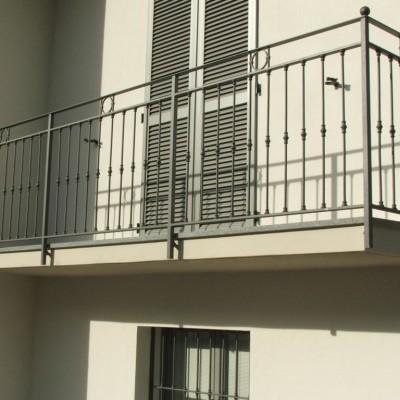 ringhiere per balconi Piacenza
